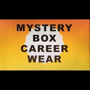 Curated mystery style box for career office attire